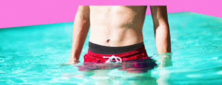 Can you wear normal shorts in a swimming pool