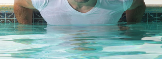 Is it ok to wear a shirt while swimming