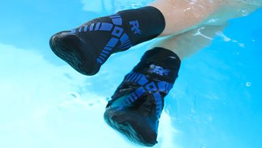 Can you wear socks in the pool